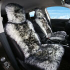 Sheepskin fur Car Seat Covers, Wool Car Seat Cushion for Adults (1 Front Seat)