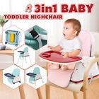 Baby High Chairs Feeding Dining Booster Table Seat Highchair for Kids Adjustabl