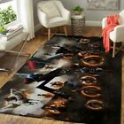 Avenger Endgame, Captain America, Iron Man Rug Floor Decor