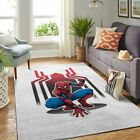 Spiderman Living Room Area Carpet Living Room Rugs Fn301019