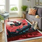 Spiderman Living Room Area Carpet Living Room Rugs Fn301020