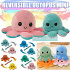 Octopus Plush Toy Double-sided Flip Reversible Squid Stuffed Doll Toys For Kids