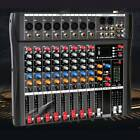 Professional Channel Live Studio Audio Mixer Power Mixing Amplifier  8/12/16