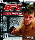 UFC Undisputed PLAYSTATION 3 (PS3) Fighting (Game Only) Sony PS3 Fight NR lot go