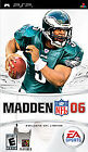 Madden NFL 06 (Sony PSP, 2005) - Sony Playstation PSP Game Only Good Condition i