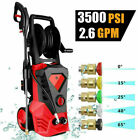 3500PSI 2.6GPM Electric Pressure Washer High Power Pressure Cleaner e 25