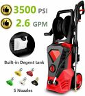 3500PSI 2.6GPM Electric Pressure Washer High Power Cold Water Cleaner B t e 222