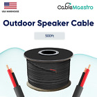 16AWG Speaker Cable Outdoor Direct Burial UV Wire Audio CL2 16/2 Gauge 250-500ft