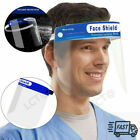Safety Face Shield Full Face Clear Anti Fog Transparent Work Industry E 256