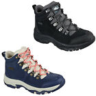 Skechers Womens Hiking Boots Relaxed Fit Trego El Captain Walking Winter Shoes