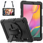 """For Samsung Galaxy Tab A 8.0"""" 8.4"""" 10.1"""" 2019 Stand Heavy Duty Rubber Case Cover"""