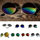 Vintage Polarized Steampunk Fishing Sunglasses Goggles Round Mirrored Glasses