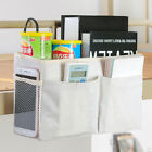 Bed Organizer Bedside Pockets Gadget Storage Bags Holder Couch Hanging Over Wall
