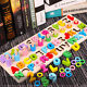 Wooden Wood Alphabets Numbers Jigsaw Puzzle Educational Board Kids Toys Gift