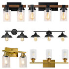 2/3 Light Bathroom Wall Vanity Light Fixtures Wall Sconce Over Mirror Wall Lamp