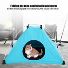 Portable Pet Dog Cat Puppy Bed Kennel Tent Folding Outdoor Pet Sleeping House