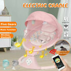 Remote Control Electric Baby Swing Cradle Infant bluetooth Music Rocking Chair
