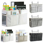 Bedside Caddy Hanging Storage Bag Pockets Bed Holder Couch Organizer Container