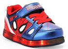 SPIDER-MAN MARVEL AVENGERS Light-Up Sneakers Shoes NWT Sz. 7 8 9 10 11 12 13 38