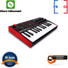 More images of Keyboard Compact Mpk Mini Piano Music Dj 25 Keys 8 Pads And Joystick 4 Pathways