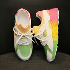 WOMEN+ANTI-SKID+THICK+SOLE+RUNNING+SPORT+SHOES+RAINBOW+LACE+SNEAKERS++CHEERFUL