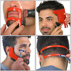 2/3/4Pcs Men Beard Hair Goatee Neckline Shaving Template Guide Haircut Kit TYlu