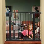 "Внешний вид - 37""-40.5"" Safety Baby Gate Durable Extra Wide  with Pet Door Stairs Doorways"