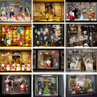 Merry Christmas Santa Claus Wall Stickers Decal Home Window Store Decoration W2