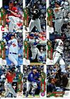 2020 Topps Holiday - METALLIC SNOWFLAKE PARALLELS - U Pick From ListBaseball Cards - 213