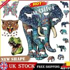 Wooden Jigsaw Puzzle Unique New Animal Shape Jigsaw Pieces Adults Kids Toy Gift