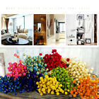 50pcs Kawaii Happy Flower Dried Flowers Bouquets Natural Material Home Decor