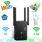 LAST 50PCS WIFI Repeater 1200Mbps Router Wireless Range Extender Signal Booster