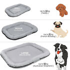 Heavy Duty Dog Bed Pet Washable Cover Zipped Mattress Tough Cushion Waterproof