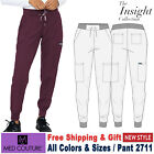 Med Couture Scrubs INSIGHT Women's New Adjustable Front Waist Ties Jogger Pant