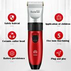 Electric Hair Clipper Trimmer Beard Shaver Rechargeable Grooming Kit 🔥💖