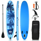 Goplus 9.8'/10'/11' Inflatable Stand Up Paddle Board W/Carry Bag Adjustable