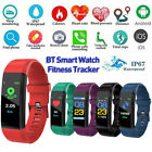 Smart Watch Fitness Tracker Heart Rate Blood Pressure Oxygen Monitor Waterproof