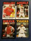 2021 Topps Series 1 1986 35th Anniversary Inserts with Blue Green Black You Pick