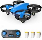 SNAPTAIN SP350 Mini RC Drone Selfie RC Quadcopter Altitude Hold with 3 Batteries