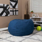 Oversized Green Dot Refillable Bean Bag Chair for Kids and Adults