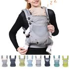 Newborn Infant Baby Carrier Breathable Wrap Sling Backpack Four Position