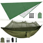 Camping Hammock With Mosquito Net / Under Quilt Blanket/ Rainfly Cover Tarp