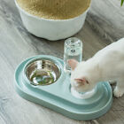 2 in 1 Automatic Dog Pet Feeder Cat Water Dispenser Food Dish Bowl Drinking UK