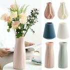 Fashiom Flower Vase Decoration Home Plastic Vase Imitation Ceramic Flower Pot