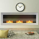 Bio Ethanol Fire Glass Fireplaces Fire Place Mounted Inset/Wall Recessed Biofire