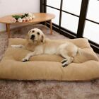 Large Orthopedic Dog Bed Pet Lounger Deluxe Cushion for Crate Foam Soft UK