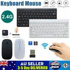 2.4ghz Ultra-thin Wireless Keyboard + Mouse Combo For Laptop Imac Windows 10