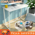 Foldable Computer Desk Wood Office Study Workstation Writing StudyTable Home