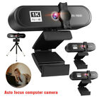 2K 4K Full HD USB Webcam Auto Focus For PC Laptop Web Camera With Microphone