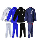 BJJ Gi Mens Kids Brazilian Jiu Jitsu Suit Jujitsu Uniform Adult Youth Blue Black